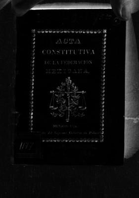 Acta Constitutiva de la Federación Mexicana