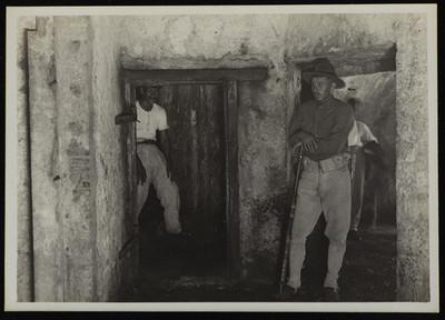 Soldados estadounidenses en las tinajas o calabozos de San Juan de Ulúa