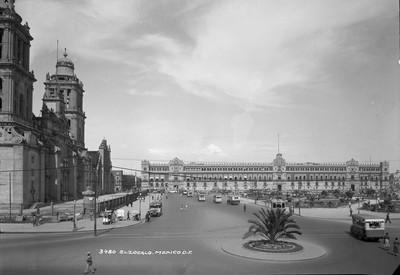 """""""El Zócalo"""", vista parcial"""
