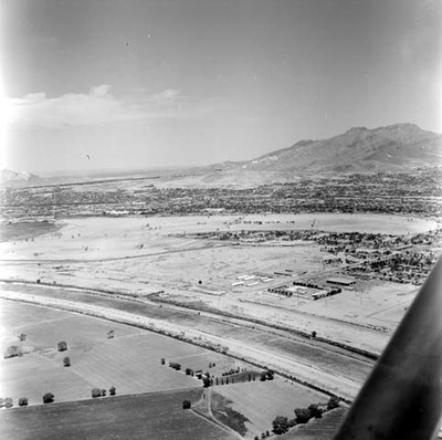 Ciudad Juárez, vista aérea