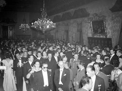 Invitados al los festejos del 15 de septiembre en Palacio Nacional