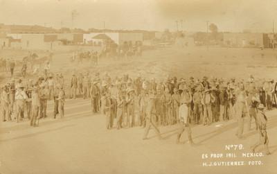 Concentración de tropas maderistas