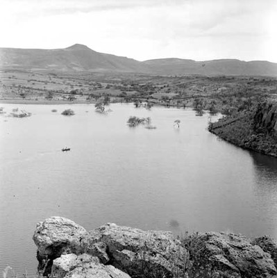 Laguna del estado de Jalisco, panorámica