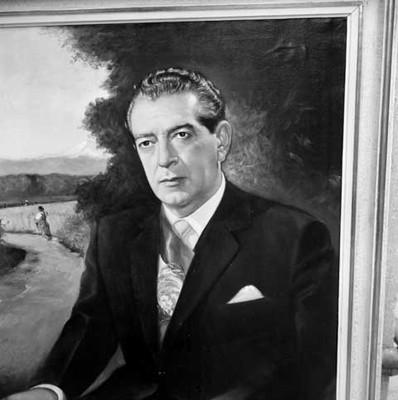 Adolfo López Mateos, retrato al óleo