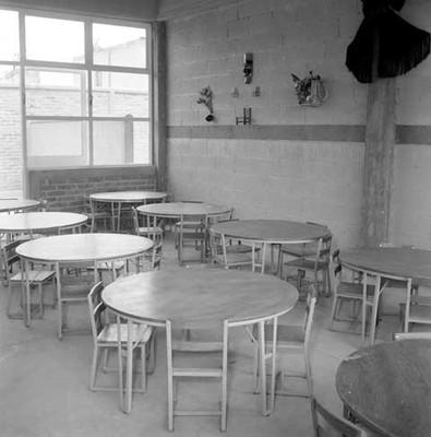 Aula de clases de una escuela, interior
