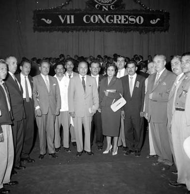 Comité Ejecutivo de la CNC en la ceremonia de la toma de protesta