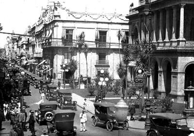 Calle de madero en la ciudad de México