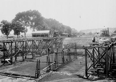 Construcción de una estación de bombeo para el abastecimiento de agua potable en el D.F.