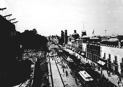 Avenida de la Ciudad de México, panorámica