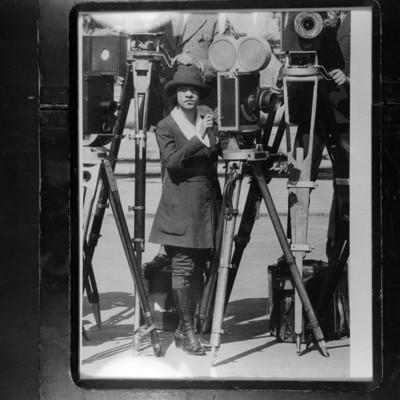Adriana S. Elhers de Rocha, camarógrafa pionera del cine silente en México