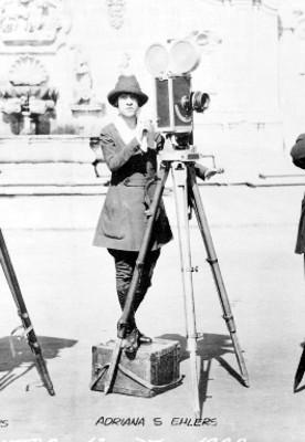 Adriana S. Ehlers, camarógrafa pionera del cine mudo