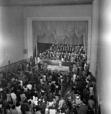 Ceremonia de cambio en el comité ejecutivo de la Anda