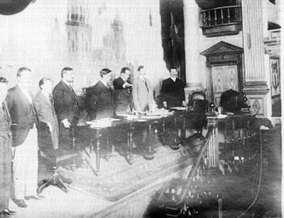 Luis Manuel Rojas protesta como presidente del congreso Constituyente