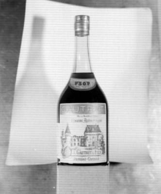 Botella de cogñac Gautret