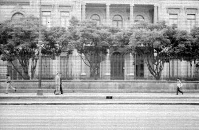 Edificio de la Secretaría de Gobernación, vista general