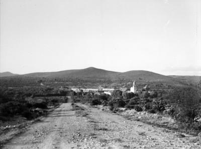 Poblado del Valle del Mezquital, vista general