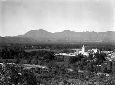 Vista de Ixmiquilpan, panorámica