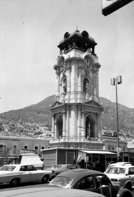 Reloj monumental de la Ciudad de Pachuca, vista general