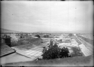 Estación de ferrocarriles de Pachuca, panorámica