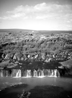 Mar y formaciones rocosas, paisaje