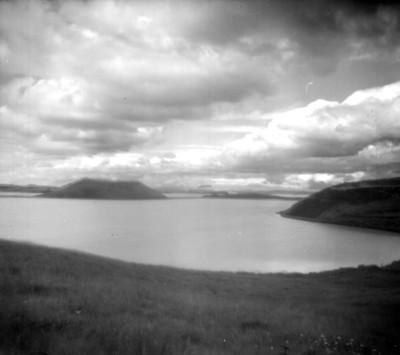 Islotes en Islandia, paisaje