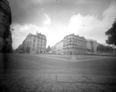 Vida cotidiana en una calle de París