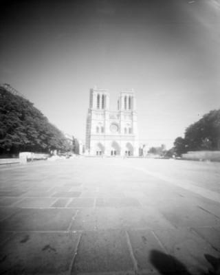 Catedral de Notre Dame, fachada, exterior