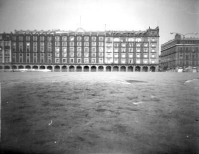 Edificio del Departamento Central de la Ciudad de México, fachada