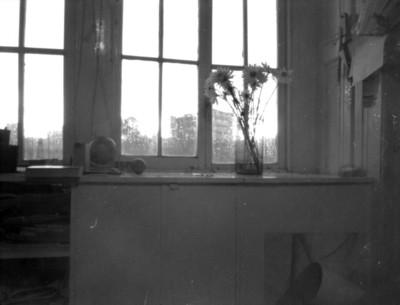 Florero junto a una ventana