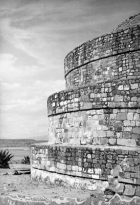 Templo de Ehécatl en Calixtlahuaca