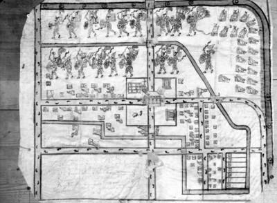 Lámina 94 del Mapa de Popotla, reprografía