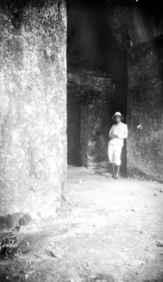 Heinrich Berlin en Palenque, retrato