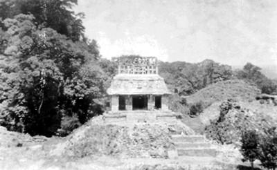 Templo del Sol, vista frontal