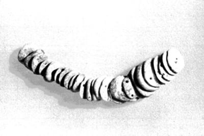 Placas redondas de diadema de la Tumba de Pakal