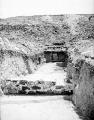 Detalle de yacimiento arqueológico
