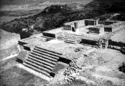 Edificio del sistema IV de Monte Albán