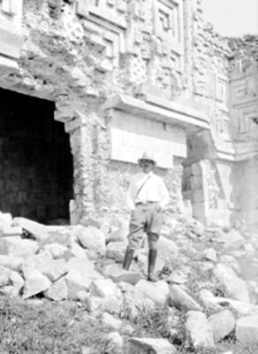 Palacio del Gobernador antes de su reconstrucción