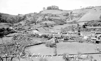 Panorámica del poblado de San Joaquín