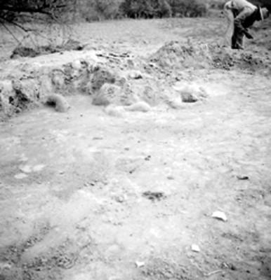 Trabajos de excavación en Tamos