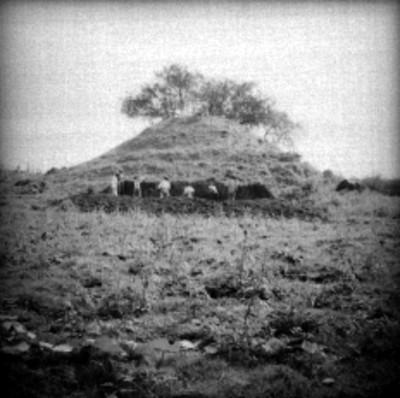 """Vista de las excavaciones en el """"Edificio B"""""""