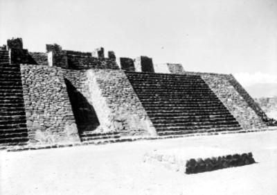 Edificio Principal con los Templos de Tláloc y Huitzilopochtli