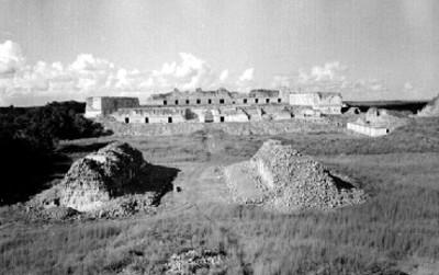 Vista general de Uxmal