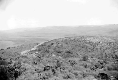 Vista de montículo por explorar