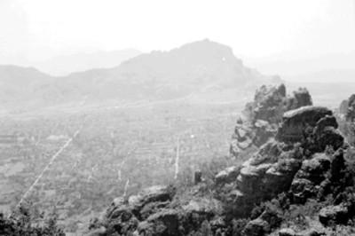 Panorámica de Tepoztlán