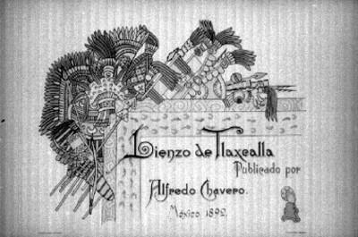 Publicación sobre el Lienzo de tlaxcala, portada
