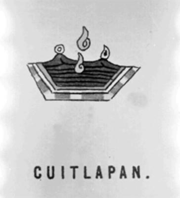 "Glifo de ""Cuitlapan"""