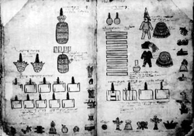 Láminas 17 y 18 de la Matrícula de Tributos