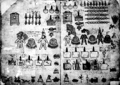 Láminas 15 y 16 de la Matrícula de Tributos