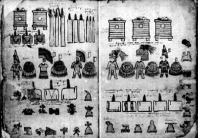 Láminas 11 y 12 de la Matrícula de Tributos