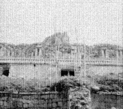 Restauración de El Palacio en Labná
